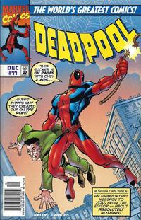 Cover Thumbnail for Deadpool (Marvel, 1997 series) #11 [Newsstand]