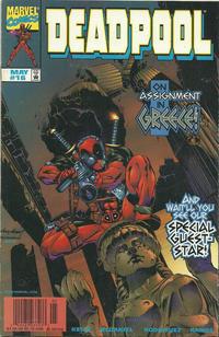 Cover Thumbnail for Deadpool (Marvel, 1997 series) #16 [Newsstand]