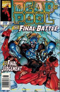Cover Thumbnail for Deadpool (Marvel, 1997 series) #19 [Newsstand]