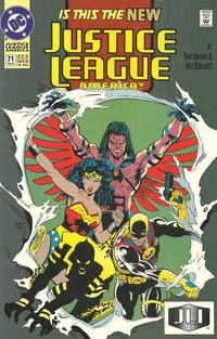 Cover Thumbnail for Justice League America (DC, 1989 series) #71 [Direct]