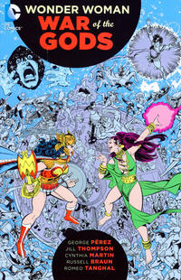 Cover Thumbnail for Wonder Woman: War of the Gods (DC, 2016 series)