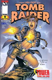 Cover Thumbnail for Tomb Raider: The Series (Image, 1999 series) #1 [Tower Records Holofoil Variant]