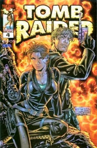Cover Thumbnail for Tomb Raider: The Series (Image, 1999 series) #4 [Dynamic Forces Chrome Variant]