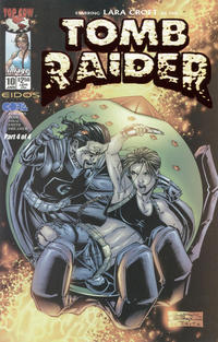Cover Thumbnail for Tomb Raider: The Series (Image, 1999 series) #10 [Dynamic Forces Ruby Red Foil Edition]