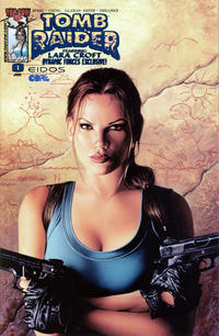 Cover Thumbnail for Tomb Raider: The Series (Image, 1999 series) #0 [Dynamic Forces Blue Foil Variant]
