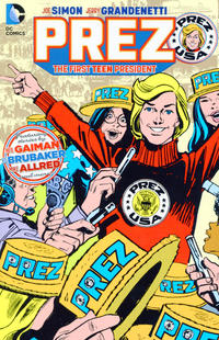 Cover Thumbnail for Prez: The First Teen President (DC, 2016 series)