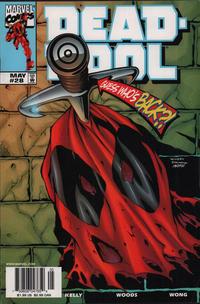 Cover Thumbnail for Deadpool (Marvel, 1997 series) #28 [Newsstand]