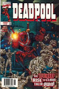 Cover Thumbnail for Deadpool (Marvel, 1997 series) #29 [Newsstand]