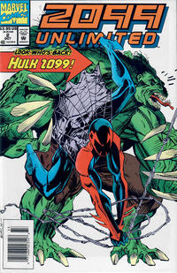 Cover Thumbnail for 2099 Unlimited (Marvel, 1993 series) #2 [Newsstand Edition]