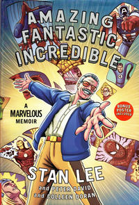 Cover Thumbnail for Amazing Fantastic Incredible: A Marvelous Memoir (Simon and Schuster, 2015 series)