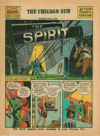 Cover Thumbnail for The Spirit (Register and Tribune Syndicate, 1940 series) #5/2/1943 [Chicago Sun Edition]