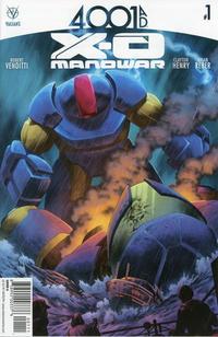 Cover Thumbnail for 4001 A.D.: X-O Manowar (Valiant Entertainment, 2016 series) #1 [Cover A - Cafu]
