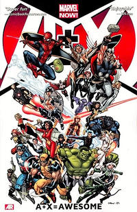 Cover Thumbnail for A+X (Marvel, 2013 series) #1 - A+X=Awesome