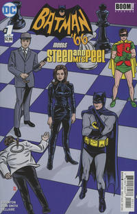 Cover Thumbnail for Batman '66 Meets Steed and Mrs. Peel (DC, 2016 series) #1
