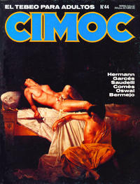 Cover Thumbnail for Cimoc (NORMA Editorial, 1981 series) #44