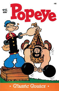 Cover Thumbnail for Classic Popeye (IDW, 2012 series) #48