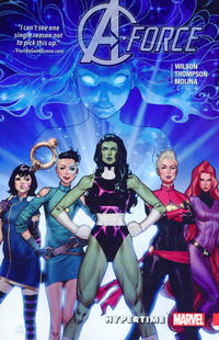 Cover Thumbnail for A-Force (Marvel, 2016 series) #1 - Hypertime