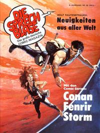Cover Thumbnail for Die Sprechblase (Norbert Hethke Verlag, 1978 series) #56