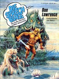 Cover Thumbnail for Die Sprechblase (Norbert Hethke Verlag, 1978 series) #58