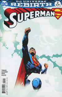 Cover Thumbnail for Superman (DC, 2016 series) #2 [Patrick Gleason Cover Variant]