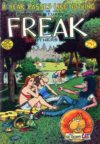 Cover Thumbnail for The Fabulous Furry Freak Brothers (Rip Off Press, 1971 series) #3 [0.75 USD 4th print]