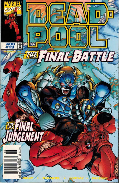 Cover for Deadpool (Marvel, 1997 series) #19 [Direct Edition]