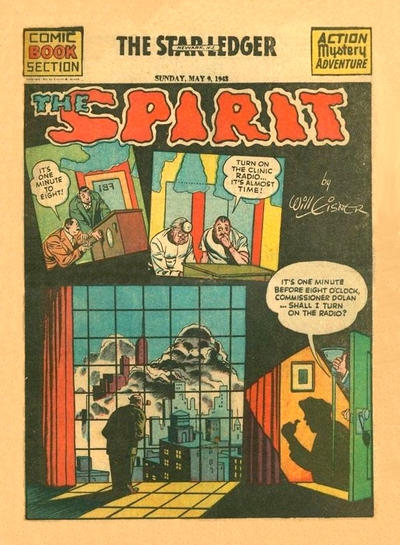 Cover for The Spirit (Register and Tribune Syndicate, 1940 series) #5/9/1943