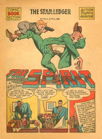 Cover for The Spirit (Register and Tribune Syndicate, 1940 series) #6/6/1943