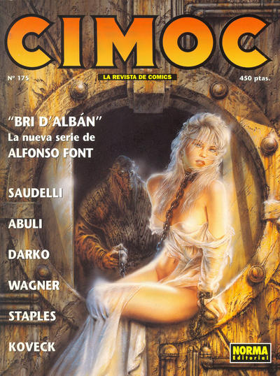 Cover for Cimoc (NORMA Editorial, 1981 series) #175