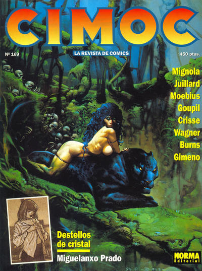 Cover for Cimoc (NORMA Editorial, 1981 series) #169