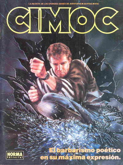 Cover for Cimoc (NORMA Editorial, 1981 series) #92