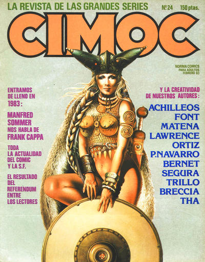 Cover for Cimoc (NORMA Editorial, 1981 series) #24