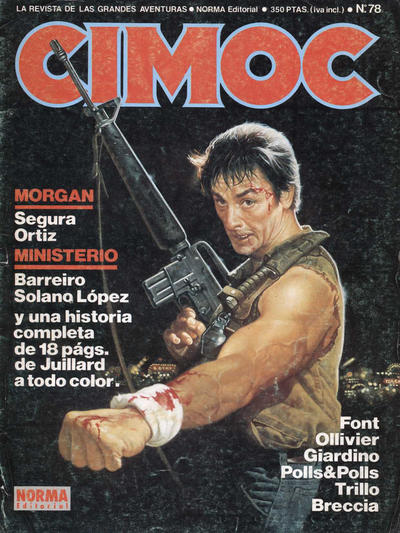 Cover for Cimoc (NORMA Editorial, 1981 series) #78
