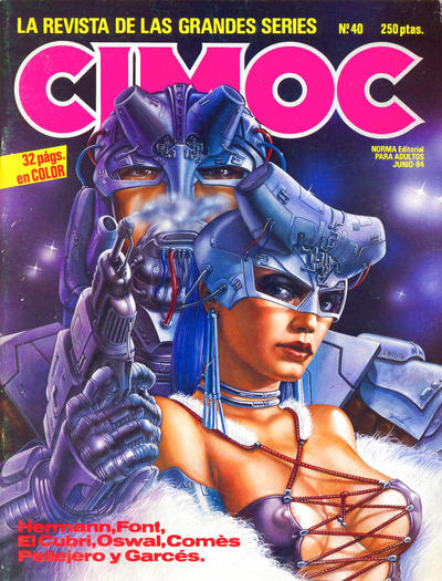 Cover for Cimoc (NORMA Editorial, 1981 series) #40