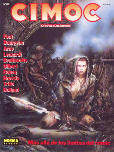 Cover for Cimoc (NORMA Editorial, 1981 series) #149