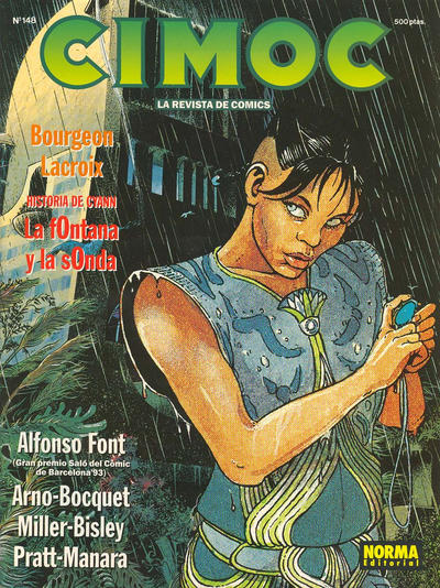 Cover for Cimoc (NORMA Editorial, 1981 series) #148