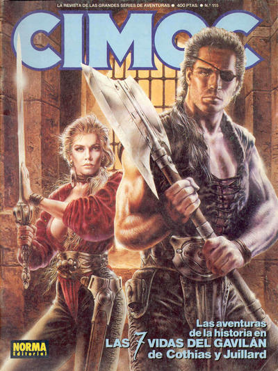 Cover for Cimoc (NORMA Editorial, 1981 series) #115