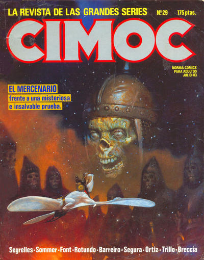 Cover for Cimoc (NORMA Editorial, 1981 series) #29