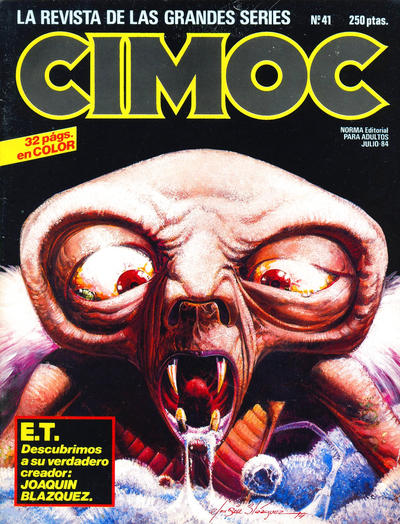 Cover for Cimoc (NORMA Editorial, 1981 series) #41
