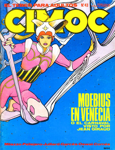 Cover for Cimoc (NORMA Editorial, 1981 series) #43
