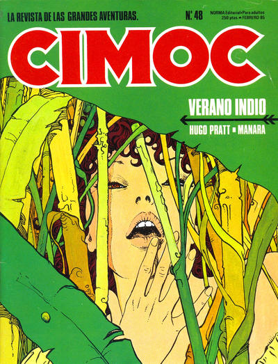 Cover for Cimoc (NORMA Editorial, 1981 series) #48