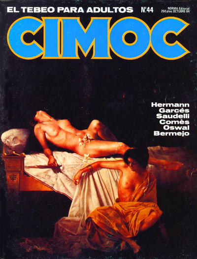 Cover for Cimoc (NORMA Editorial, 1981 series) #44