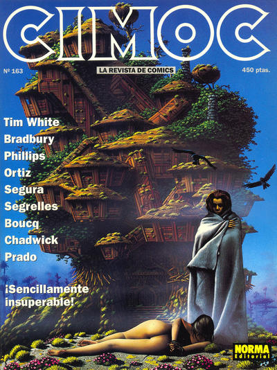 Cover for Cimoc (NORMA Editorial, 1981 series) #163