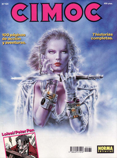 Cover for Cimoc (NORMA Editorial, 1981 series) #131