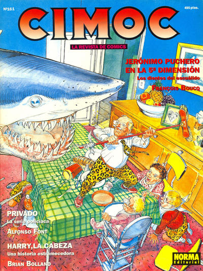 Cover for Cimoc (NORMA Editorial, 1981 series) #161