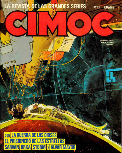 Cover for Cimoc (NORMA Editorial, 1981 series) #23