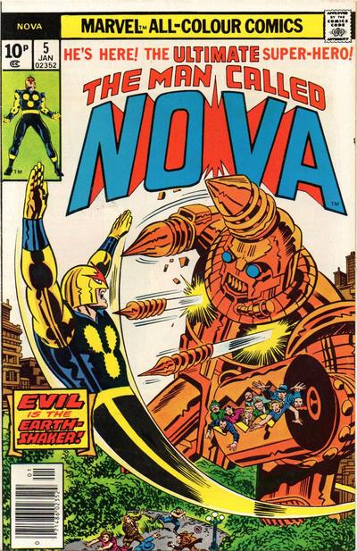 Cover for Nova (Marvel, 1976 series) #5 [Regular Edition]
