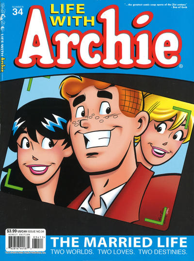 Cover for Life with Archie (Archie, 2010 series) #34