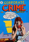 Cover for Corporate Crime (Kitchen Sink Press, 1977 series) #1 [Second and Third Printings]