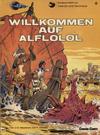 Cover for Valerian und Veronique (Carlsen Comics [DE], 1978 series) #4 - Willkommen auf Alflolol [2. Aufl. 1982]